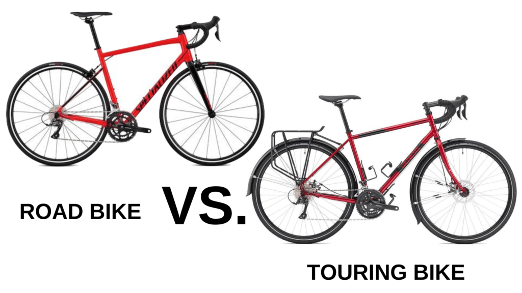 Tour Bike vs Road Bike